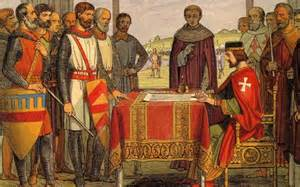 King John Signing the Magna Carta antioligarch.wordpress.com